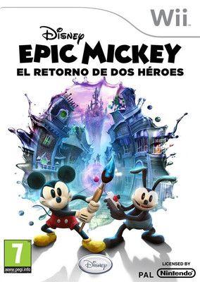 Disney Epic Mickey: El Retorno De Dos Heroes
