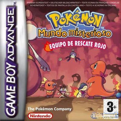 Pokémon Mundo Misterioso: Equipo De Rescate Rojo