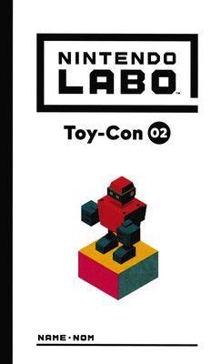 Nintendo labo: Toy-Con 02 – Kit Robot