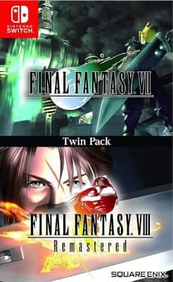 Final Fantasy VII & Final Fantasy VIII – Twin pack
